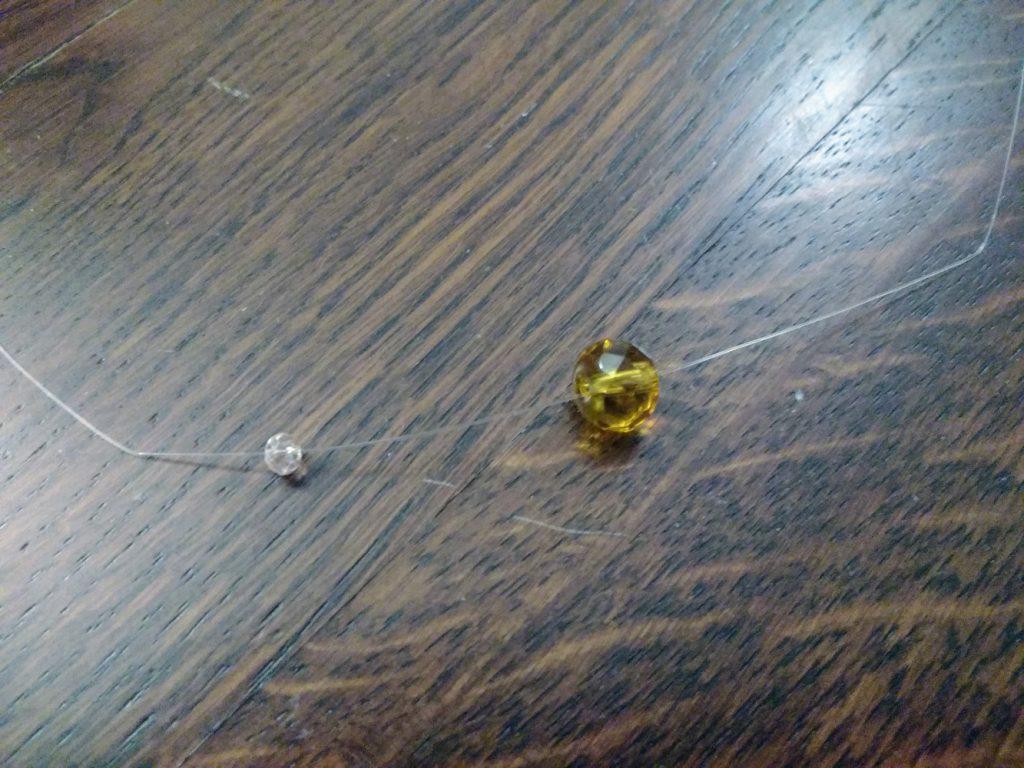 Perle per creare Bulbo del Fiore in Organza