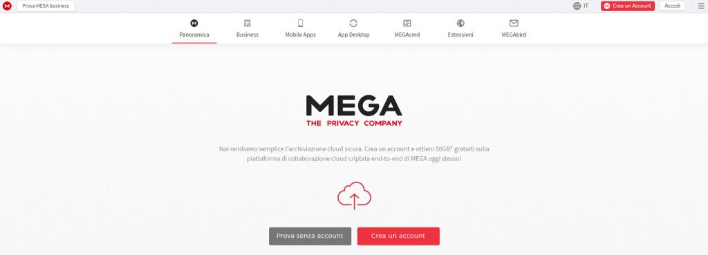 Mega fa parte dei Negozi Online che Accettano Bitcoin