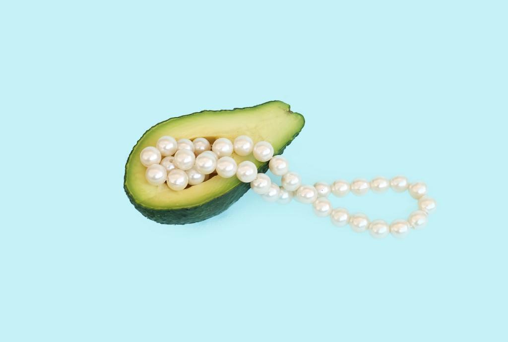 Iridescenza delle Perle Coltivate