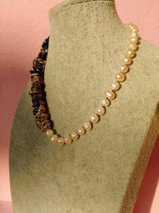 Collana di Perle Naturali