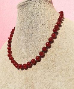 Collana di Agata Rossa